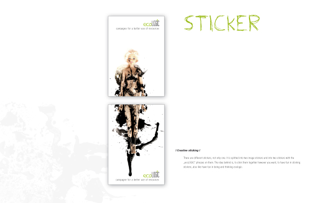 eco_Logic: Brandbook Sticker