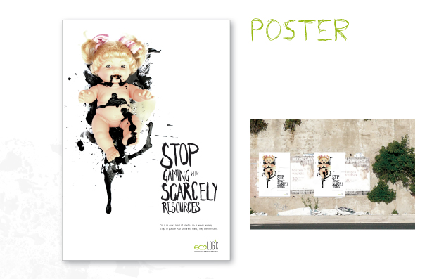 eco_Logic: Brandbook Plakat
