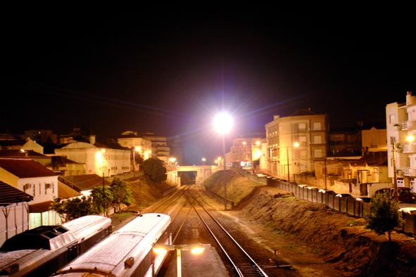 Caldas da Rainha: Bahnhof