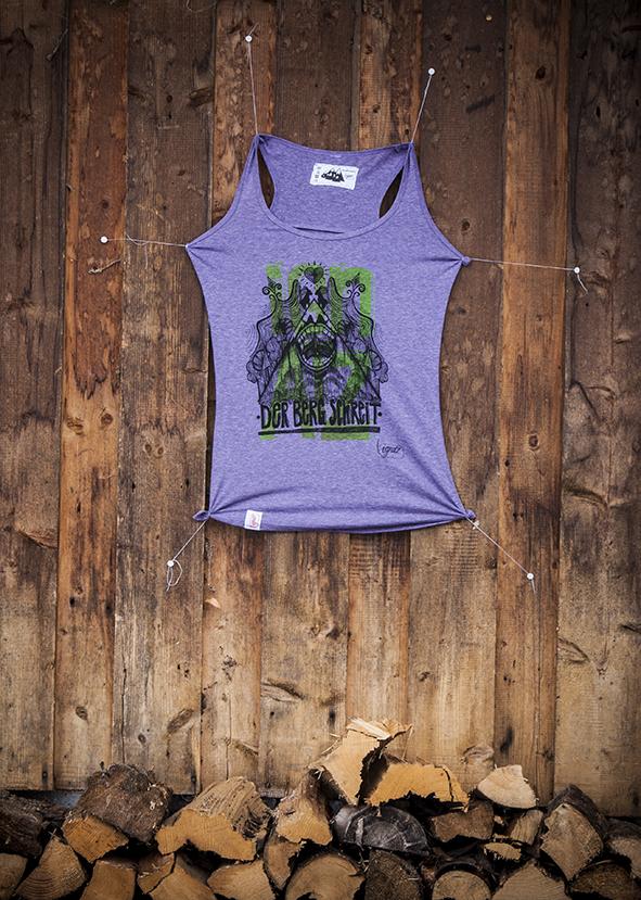 ignatz-Shirt: Der Berg schreit