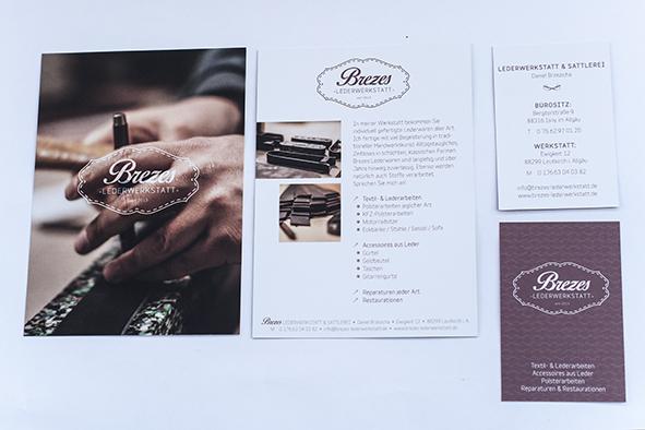 Drucksachen im Corporate Design