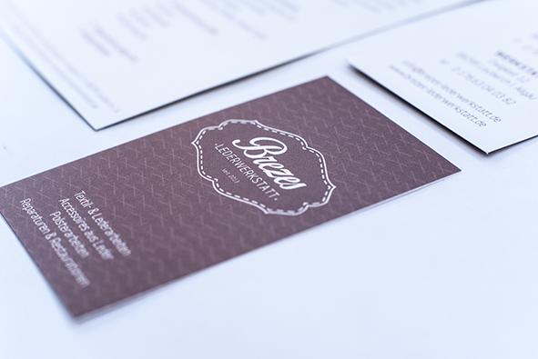 Geschäftspapiere: Visitenkarte