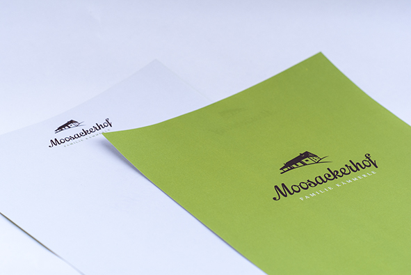 Moosackerhof: Briefpapier